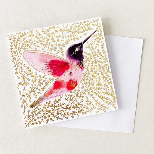 Hummingbird (Thinking of You) | GREETING CARD (Single Card)
