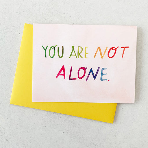 You Are Not Alone | GREETING CARD (Boxed Set)