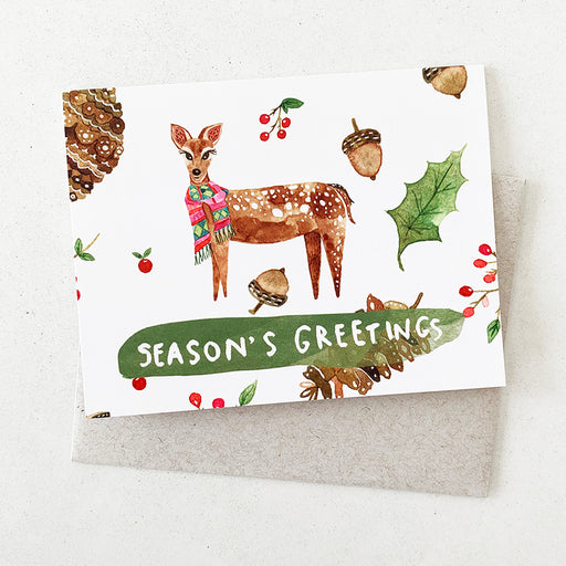 Season's Greeting Doe | GREETING CARD (Boxed Set)