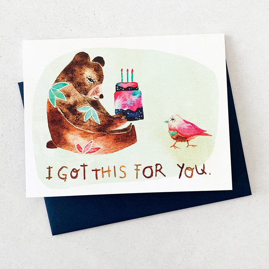 Cake Greeting Card