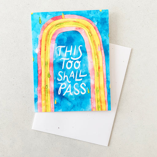 This Too Shall Pass | GREETING CARD