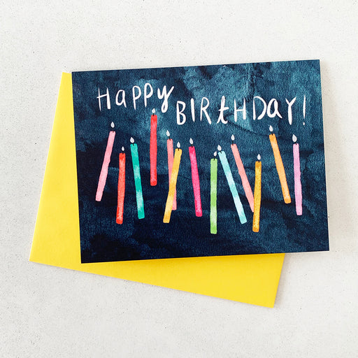 Unique Happy Birthday Card