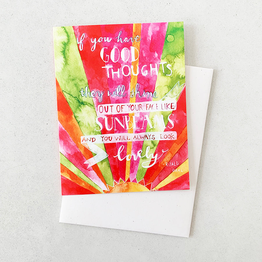 Think Good Thoughts | GREETING CARD (Boxed Set)