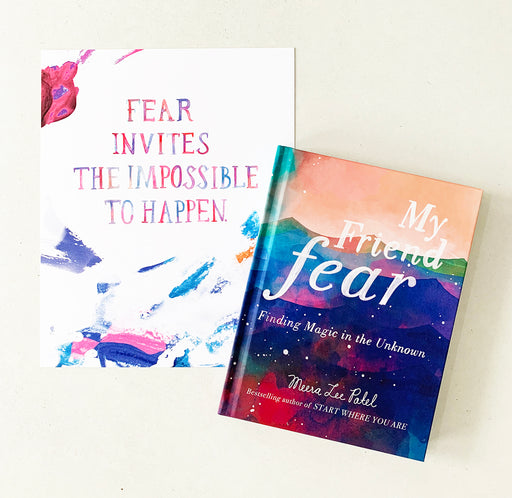 My Friend Fear | BOOK & PRINT SET