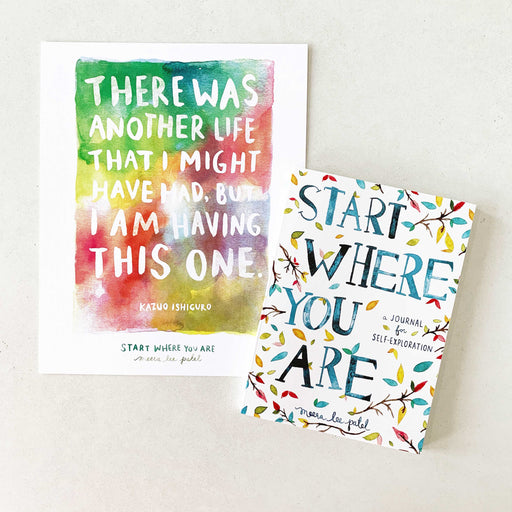 Start Where You Are | JOURNAL & PRINT SET