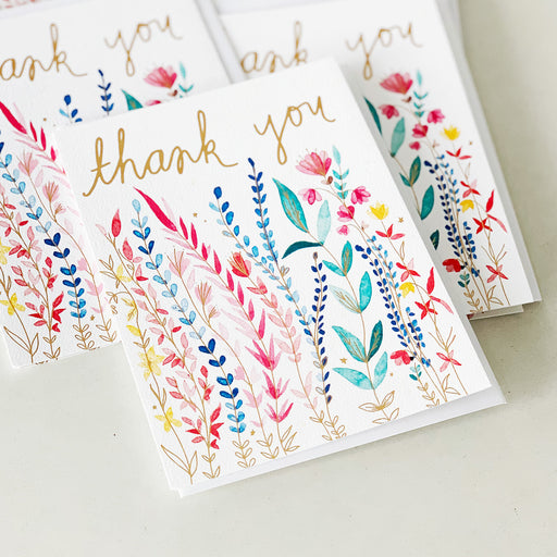 Thank You Wildflowers | GREETING CARD (Single Card)