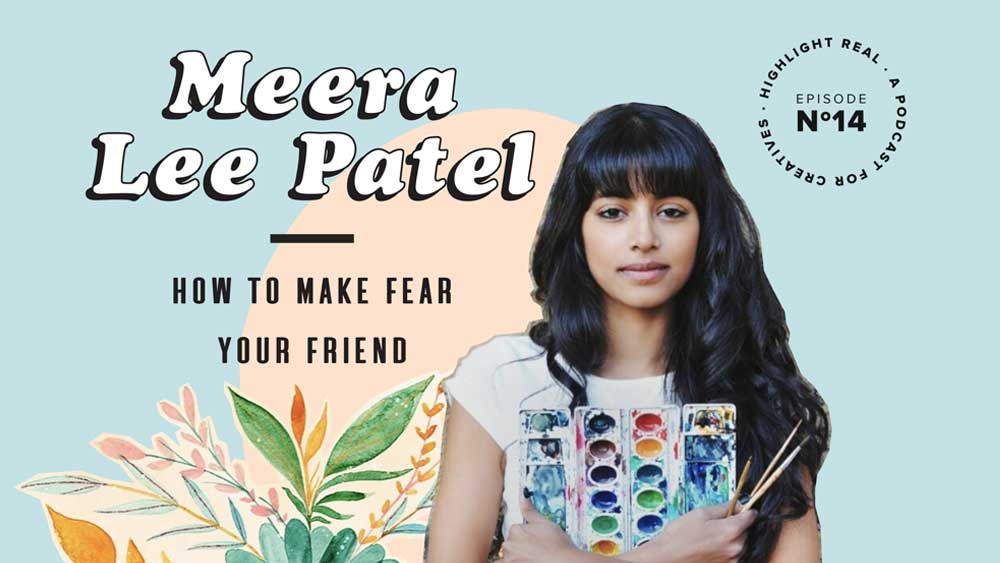 New paintings, stationery, gifts, and signed books by Meera Lee Patel