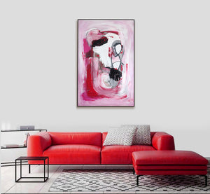 False Alarm - Oversize Original Painting On Canvas | Limited Edition | Only One Available