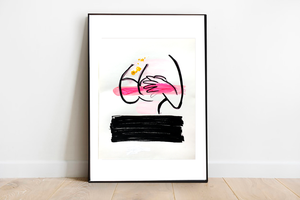 Flirty - Original Painting / Only One Available