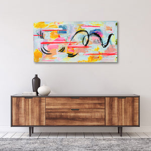 Rhythm - Original Painting On Canvas | Limited Edition | Only One Available