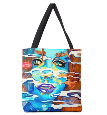Unique Artsy Tote Bag