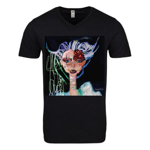 Unique, Colorful T-shirt | Black
