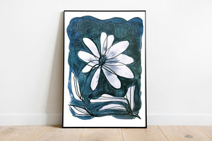 Wild Flower - Original Painting, Limited Edition