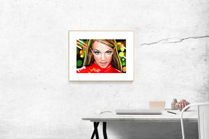 art print - britney spears - pop art