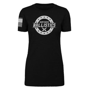 Kentucky Ballistics - Women's Black Tee Shirt
