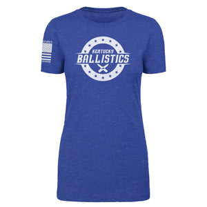 Kentucky Ballistics - Women's Royal Blue Tee Shirt