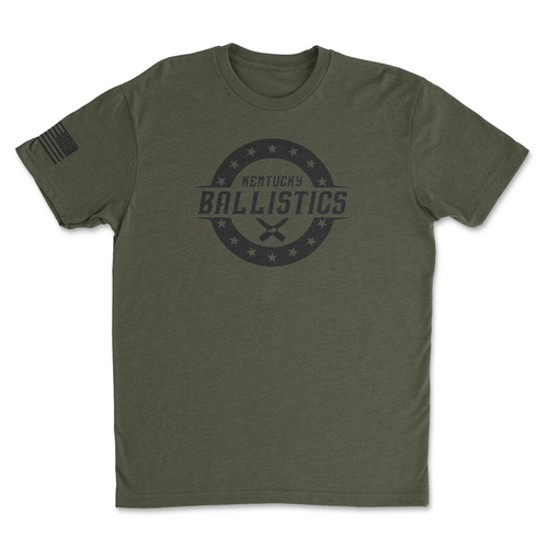 Kentucky Ballistics Logo - Men's Tee Shirt