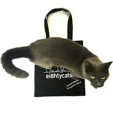 Load image into Gallery viewer, ei8htycats tote bag