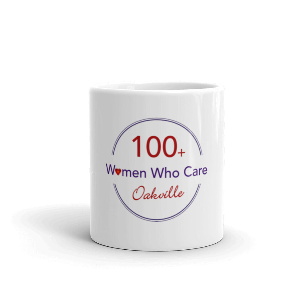 Mug (100 Women Who Care) - MerchHelp - Custom Branded Merchandise - Non for profit