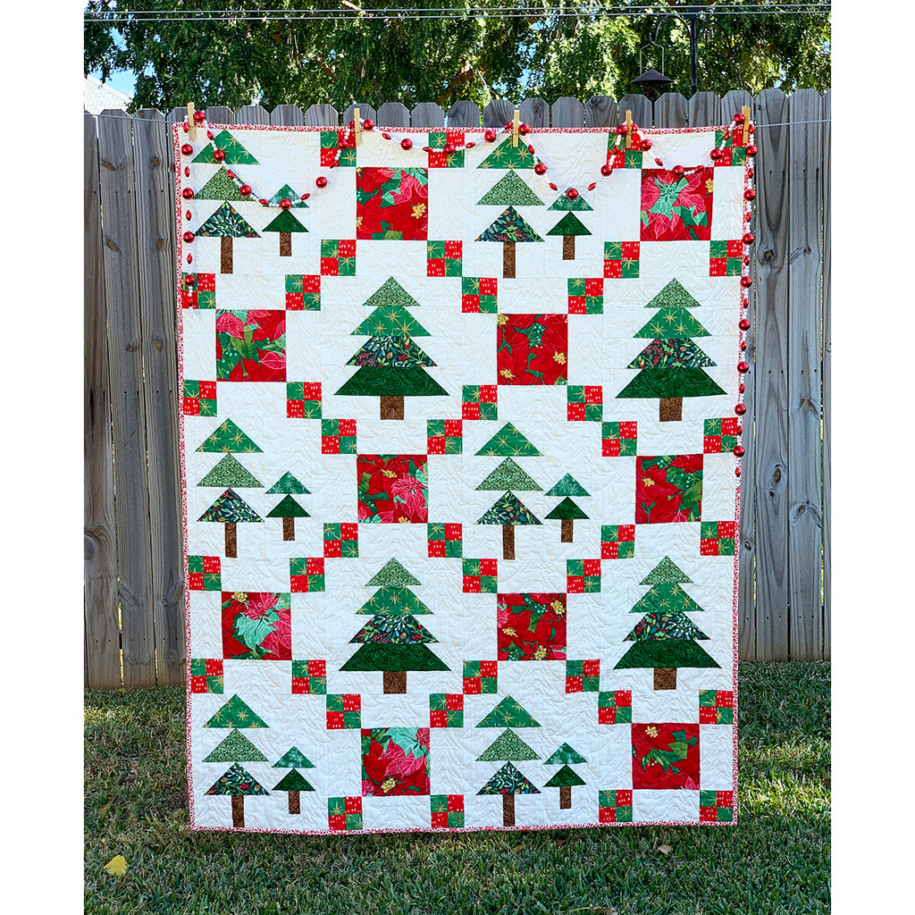 2019 Fir Good Measure Christmas Mystery Quilt