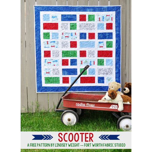 Scooter Quilt Pattern