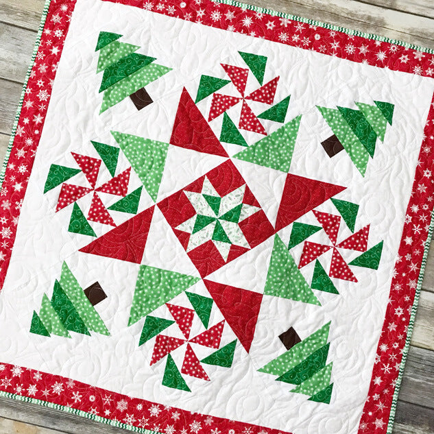 2017 Christmas Mystery Quilt Pattern