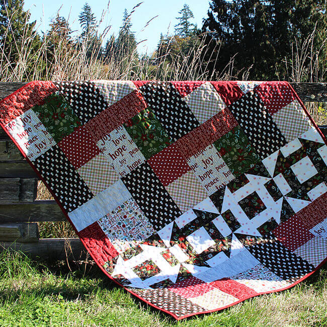 2018 Cozy Up Beginners Series Christmas Mystery Quilt Pattern