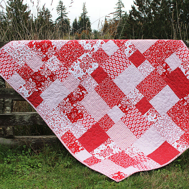 Mix Match Quilt Pattern