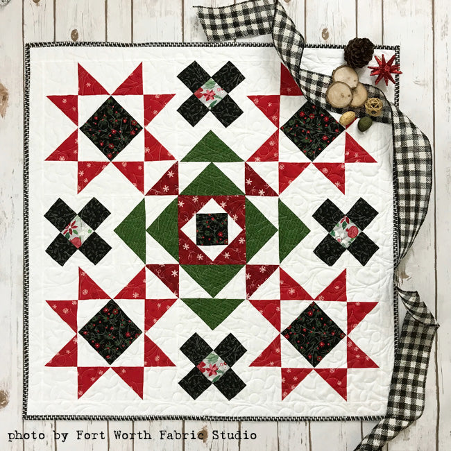 2018 Winter Flurries Christmas Mystery Quilt Pattern