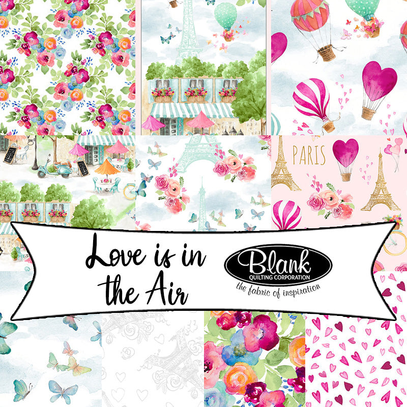 Love is in the Air by Lanie Loreth for Blank Quilting