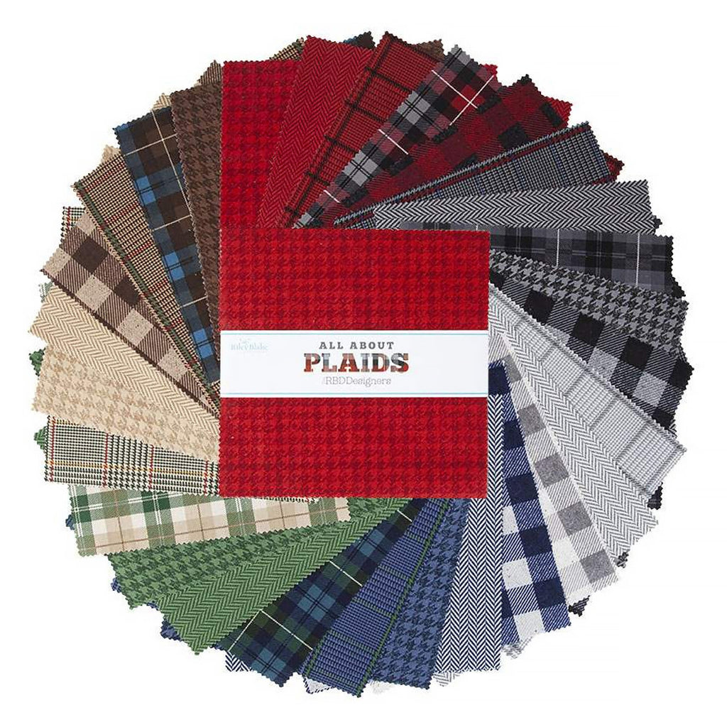 "All About Plaids 10"" Stacker from Riley Blake"