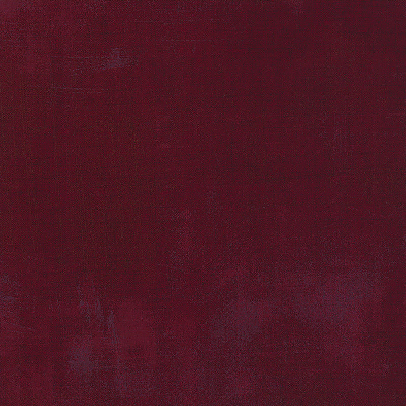 "108"" Wide Quilt Backing Grunge Basics in Burgandy"