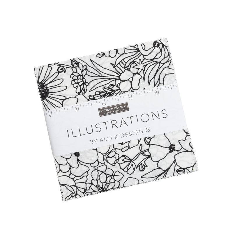Illustrations Charm Pack from Moda