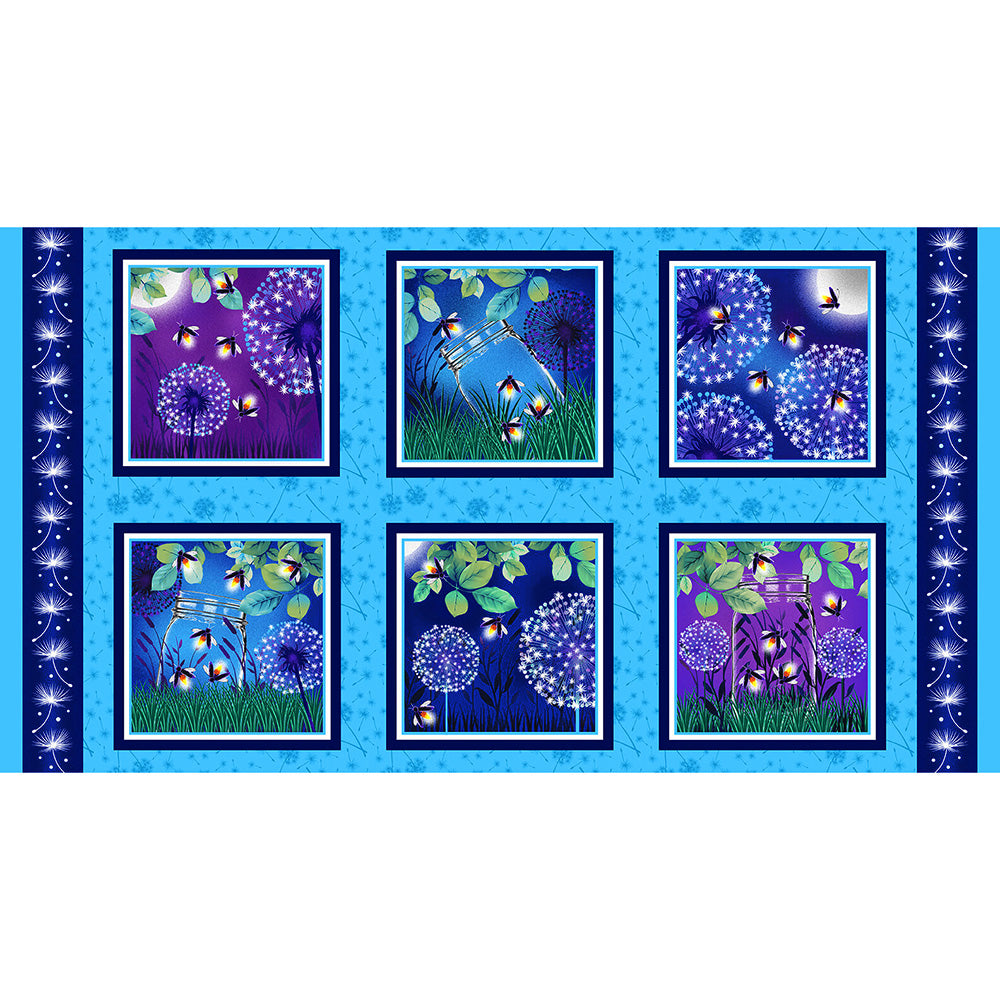 "Let Your Light Shine 24"" Blocks Panel"