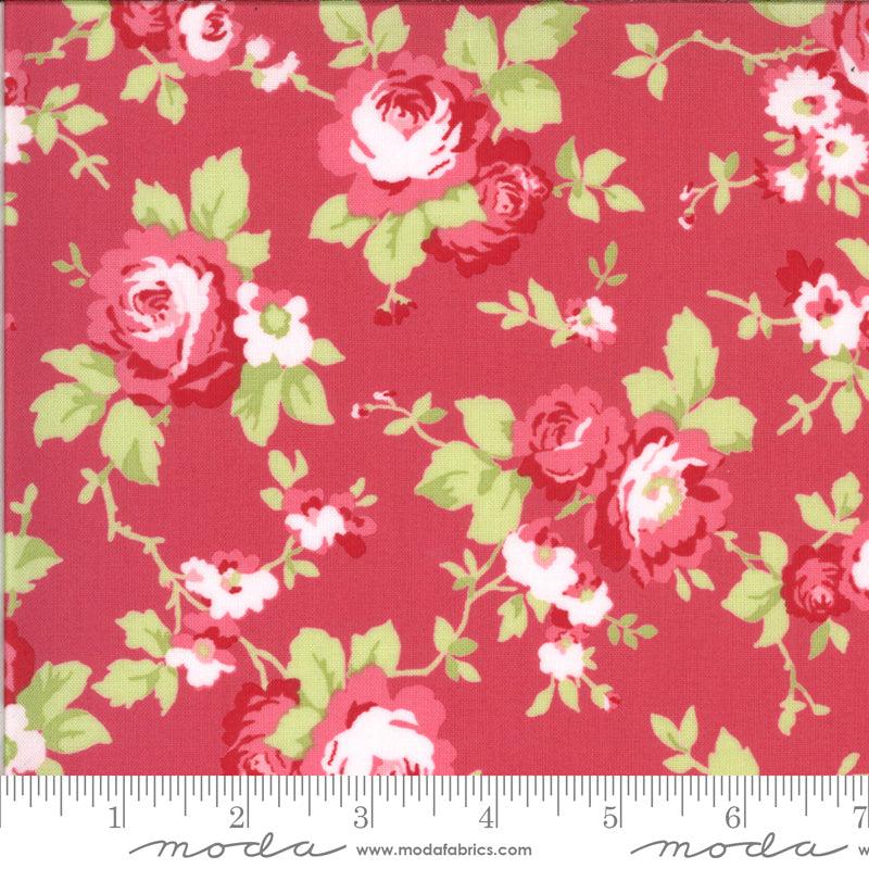 Sophie Main Floral Rosey