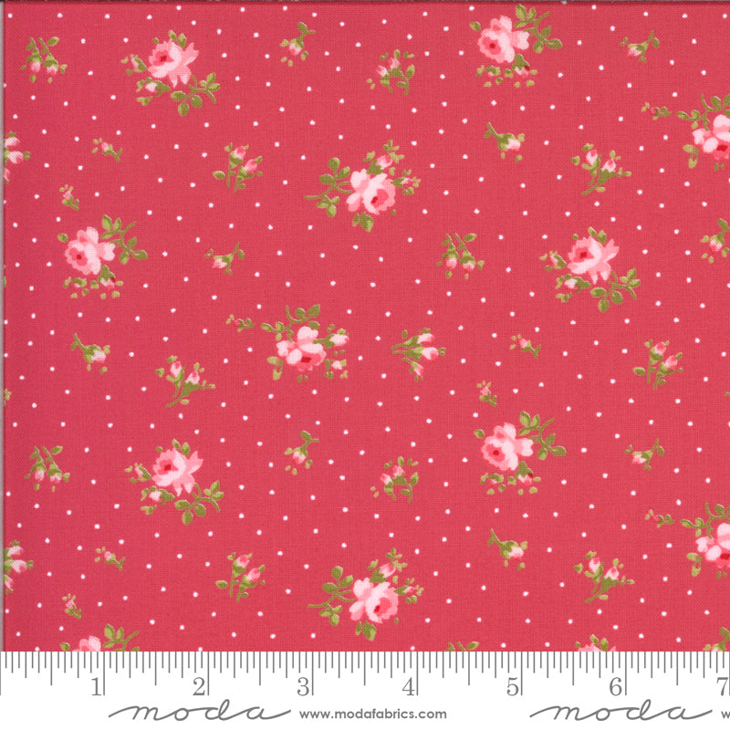 Sophie Medium Floral Rosey