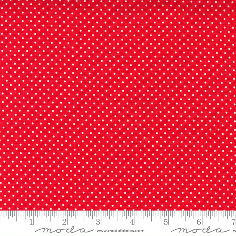 Holiday Essentials Americana Dots Christmas Red