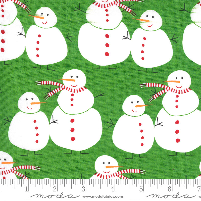 Merry & Bright! Merry Snowmen Ever Green
