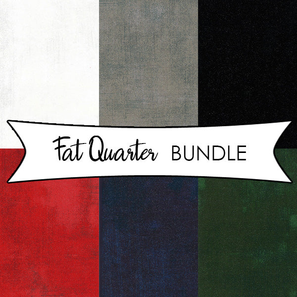 Grunge Glitter Fat Quarter Bundle with Glitter