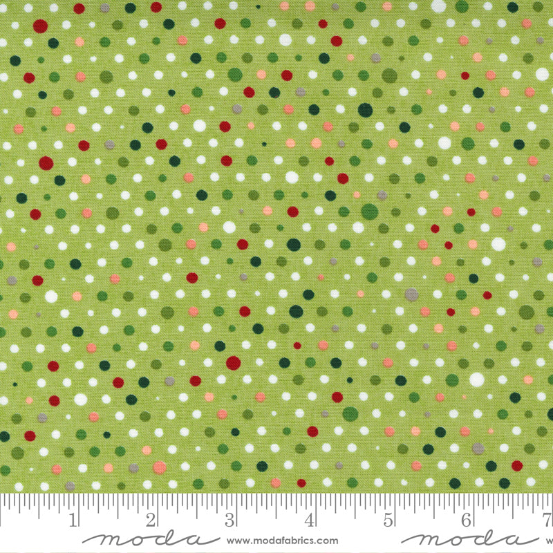 Hustle & Bustle Party Multicolor Dot Pear
