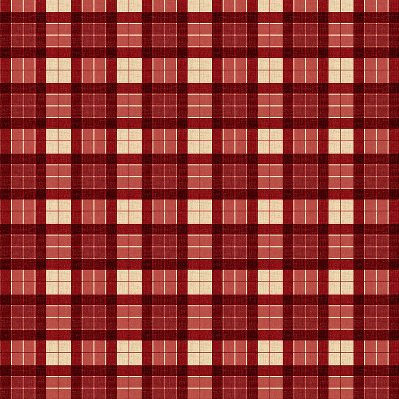 Evergreen Farm Plaid Red