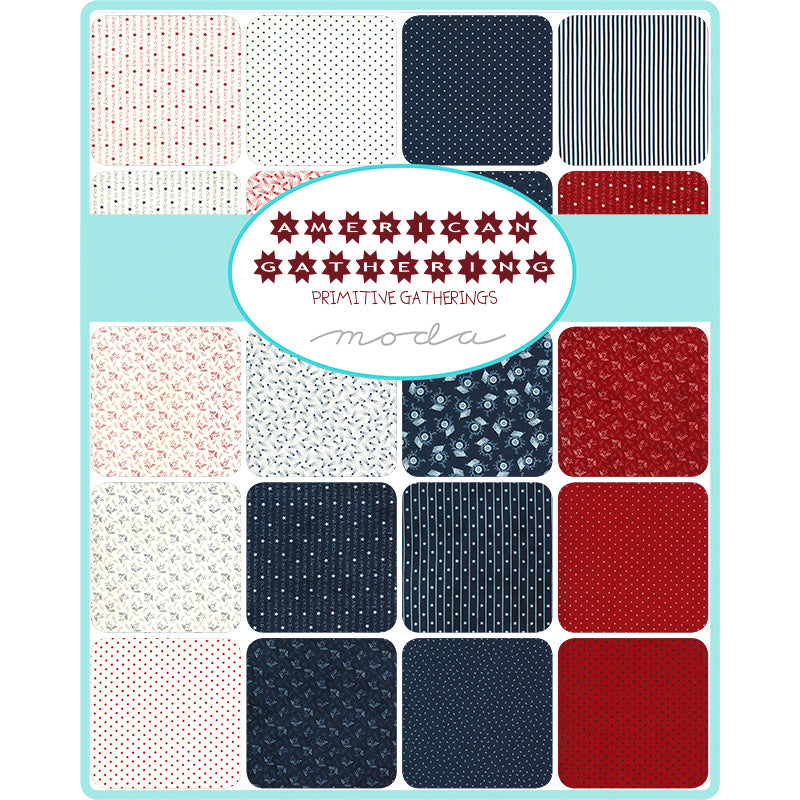 American Gathering Mini Charm Pack from Moda