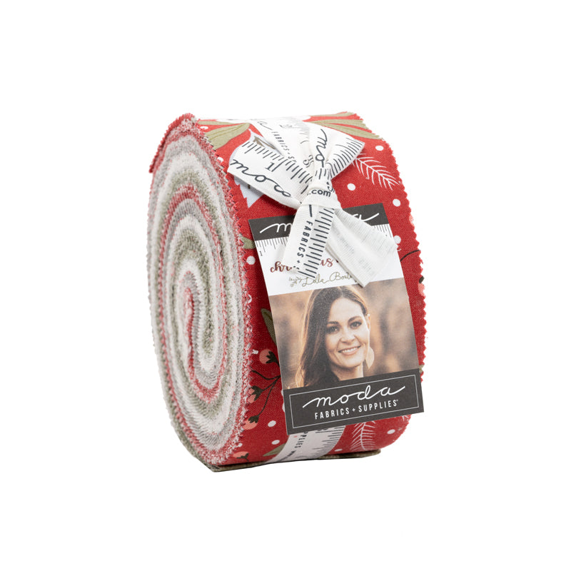 Christmas Morning Jelly Roll from Moda