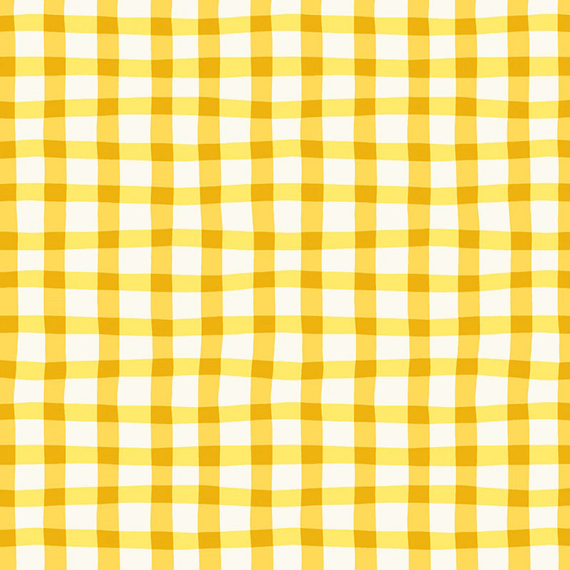 A to Zoo Loose Gingham Yellow