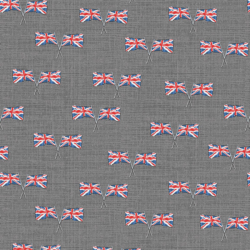 London Union Jack Grey
