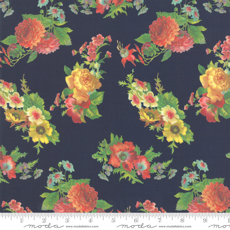 Flea Market Mix Floral Navy