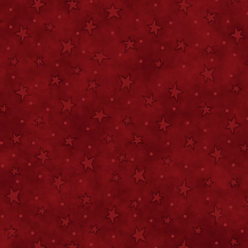 Starry Basics Red