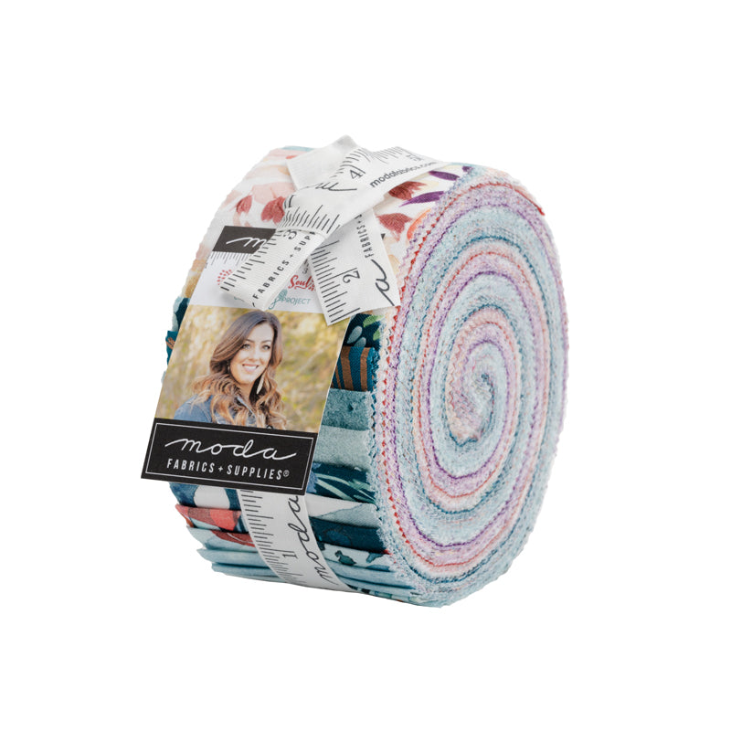 Sunshine Soul Jelly Roll from Moda