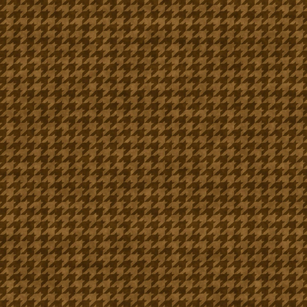 Houndstooth Basics Brown