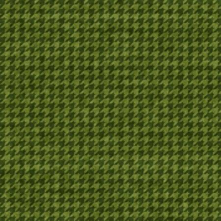Houndstooth Basics Green